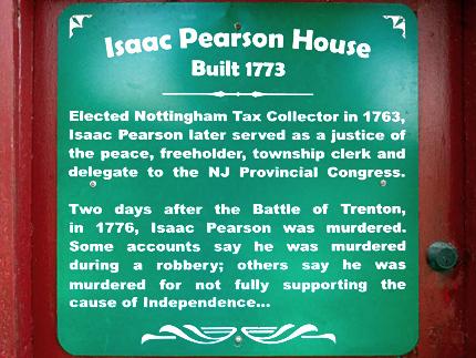 Hamilton, New Jersey Revolutionary War Sites| Hamilton Historic Sites