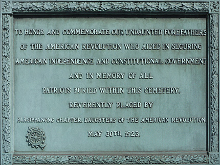 Parsippany, New Jersey Revolutionary War Sites | Parsippany