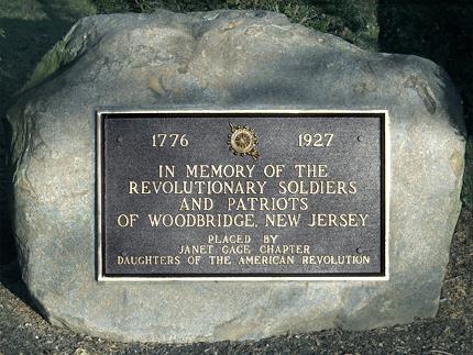 Woodbridge New Jersey Revolutionary War Sites | Woodbridge
